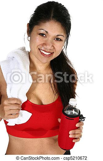 Fitness Attractive Filipino  Woman  - csp5210672