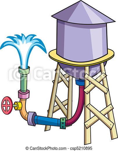 Water Tower - csp5210895