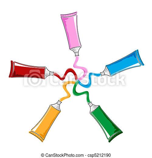 color tubes - csp5212190