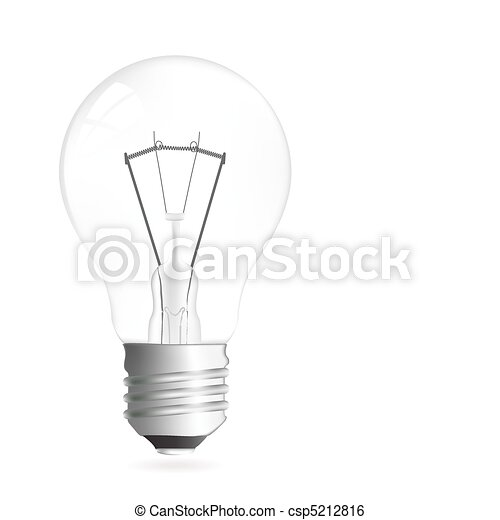 Light bulb illustration - csp5212816
