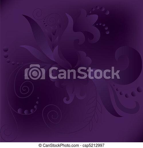 purple square background - csp5212997