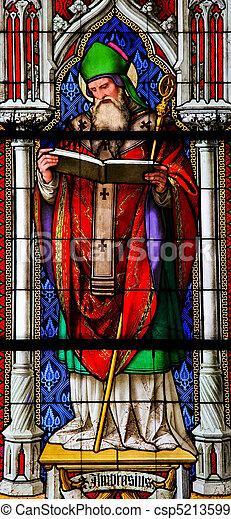 Saint Ambrose - csp5213599