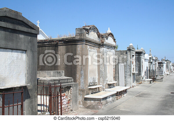 New Orleans Historic Cemetary - csp5215040