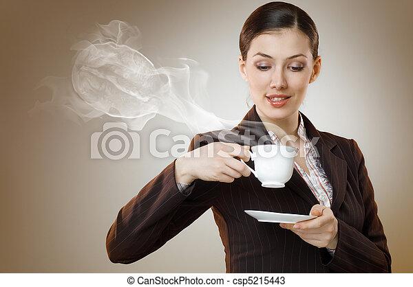 aromatic coffee - csp5215443
