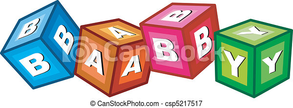 baby blocks - csp5217517