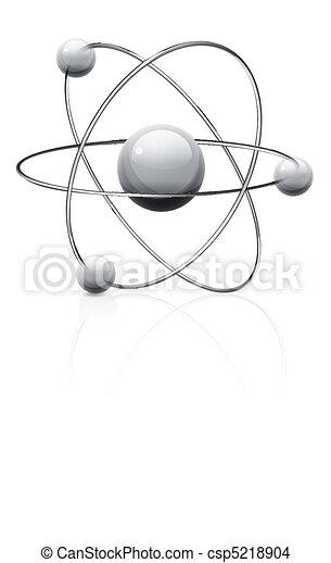 Atom symbol - csp5218904