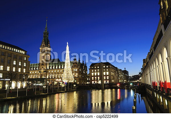 Hamburg, Germany - csp5222499
