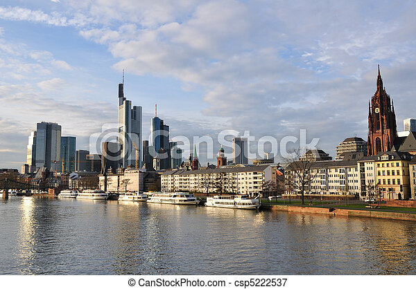 Frankfurt am Main, Germany - csp5222537