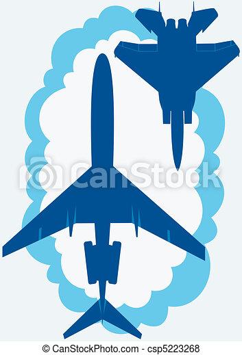 Civilian and military aviation - csp5223268