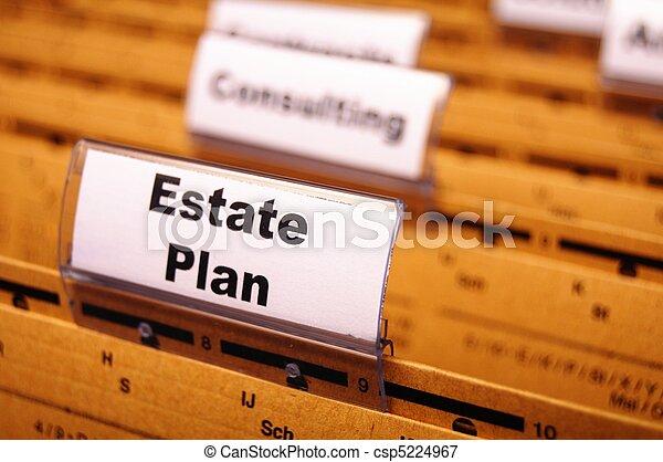 real estate plan - csp5224967
