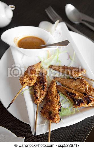 Chicken Satay - csp5226717