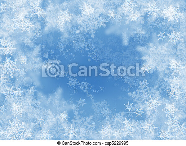 abstract winter background - csp5229995