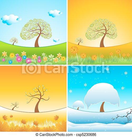 types of weather - csp5230686