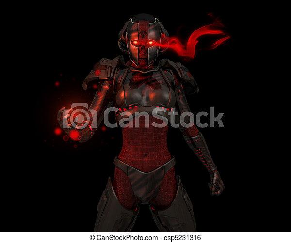 Advanced cyborg soldier - csp5231316