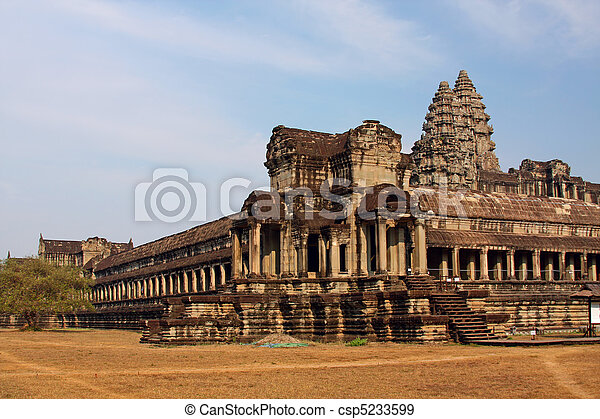 Ancient Angkor Wat - csp5233599