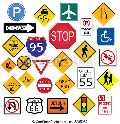 Road signs Illustrations and Stock Art. 164,428 Road signs ...