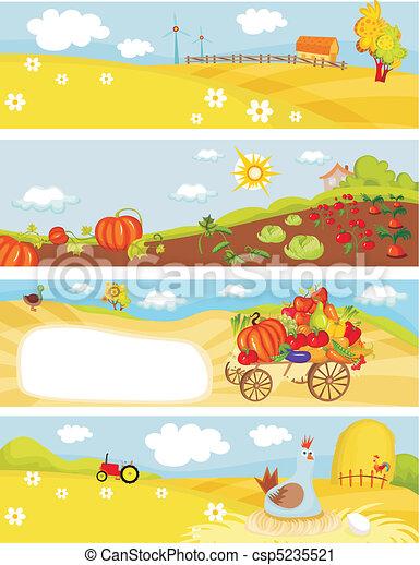 farm cards - csp5235521