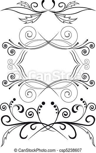 set of symmetric ornaments - csp5238607