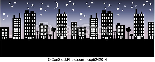 city skyline - csp5242014