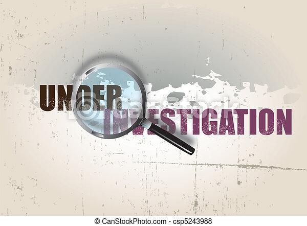 Investigation - csp5243988