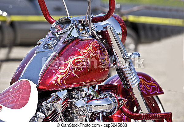 Motorcycle Paint Designs Ideas