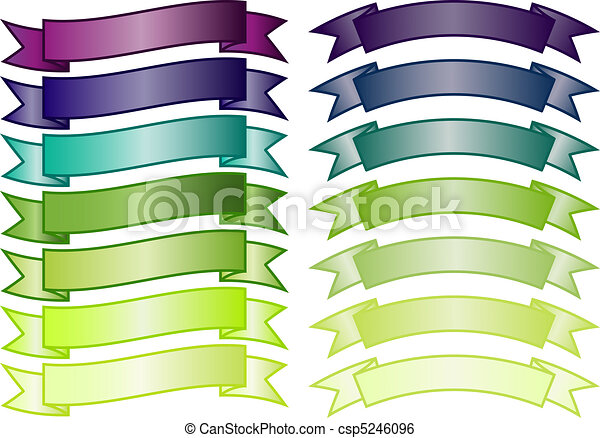 Set of simple Banners - csp5246096