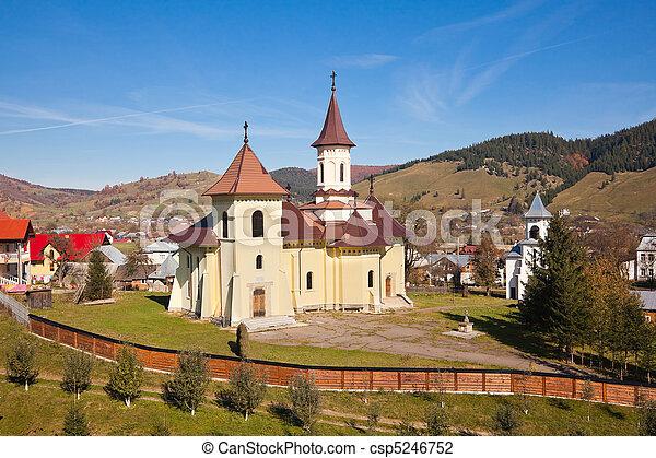 Church in Humor village