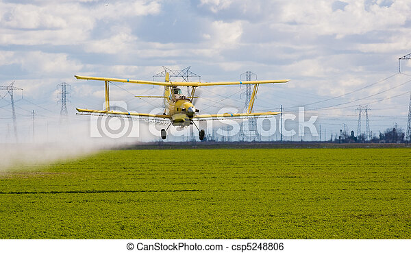 Crop duster - csp5248806