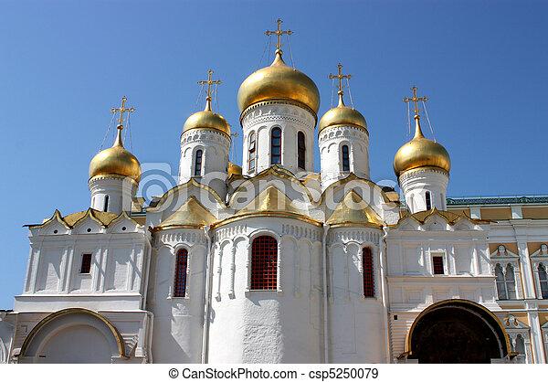 Russian church. - csp5250079