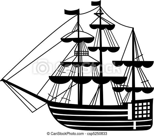 sailing-ship - csp5250833