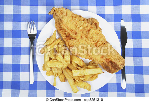 Fish and Chips - csp5251310