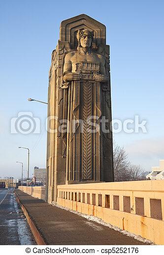 pont, historique - csp5252176