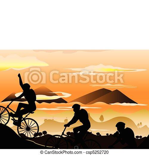 Mountain biking - csp5252720