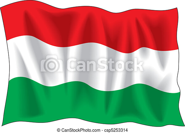 Hungarian flag - csp5253314