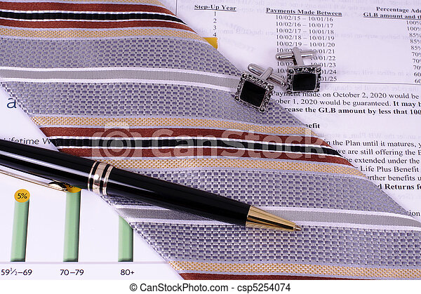 Financial Professional Accessories - csp5254074