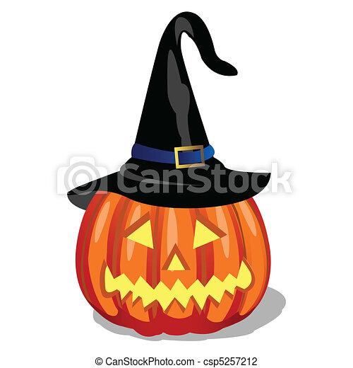 Illustration vecteur de citrouille halloween csp5257212 - Prix d une citrouille ...