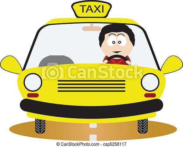 Taxi Driver - csp5258117