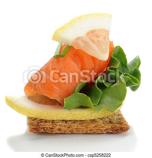 Smocked Salmon - csp5258222