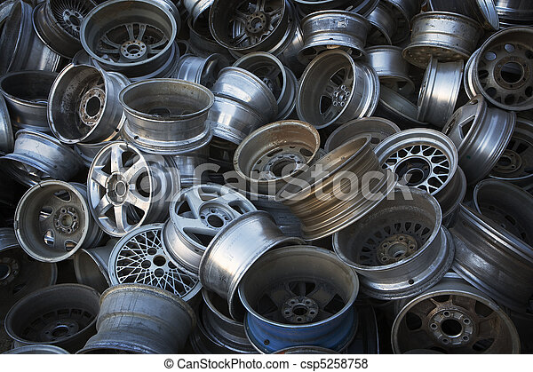 Car Rims Ready For Recycling 5258758 on Aluminum Can Clip Art