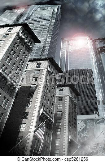 Modern City - csp5261256