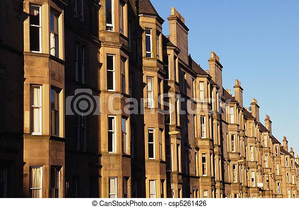 Residential property, Edinburgh - csp5261426