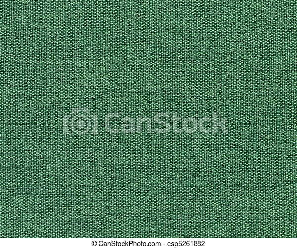 Green Cotton Canvas - csp5261882