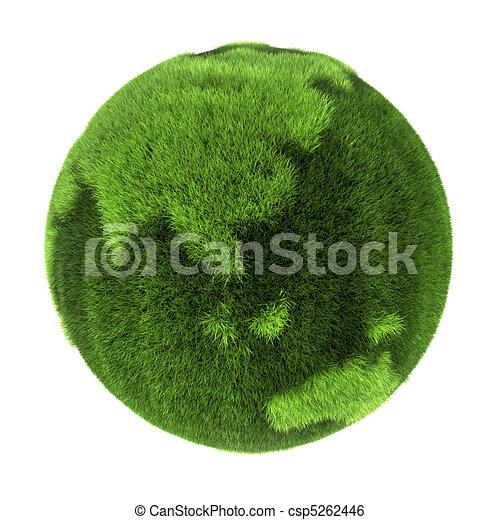 Grass Earth - Asia and Australia - csp5262446