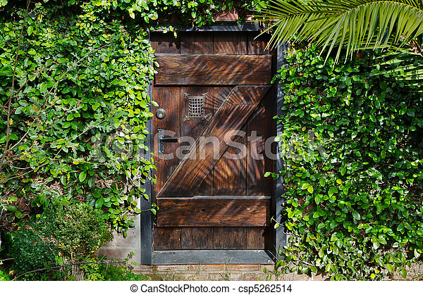 Photo de horisontal top secret porte jardin small for Porte in spanish