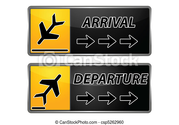 arrival and departure tags - csp5262960