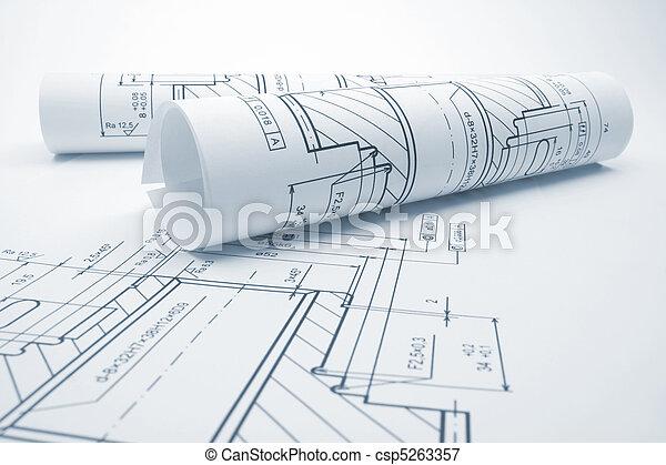 Engineering blueprints - csp5263357