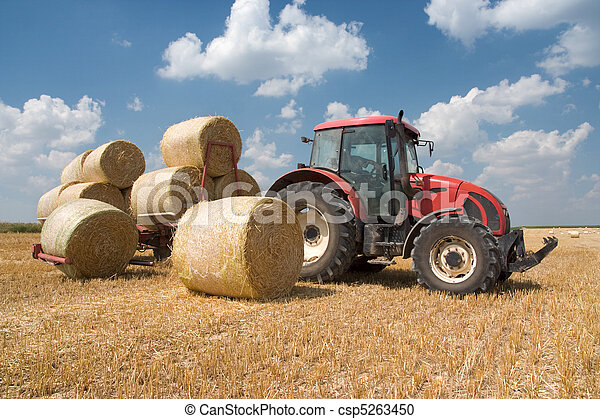 Agriculture - tractor - csp5263450