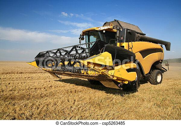 Agriculture - Combine - csp5263485