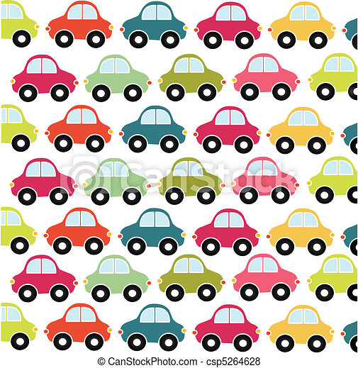 car pattern, toy - csp5264628