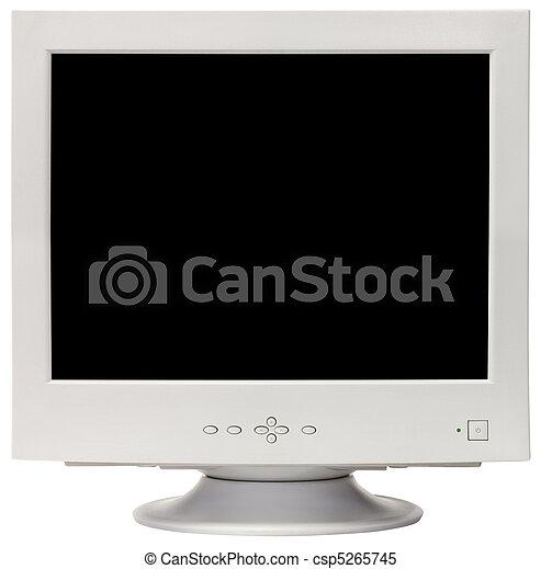 CRT monitor cutout - csp5265745